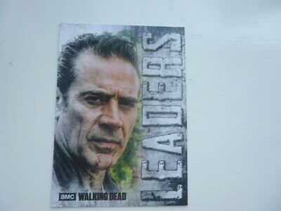 The Walking Dead Hunters & The Hunted Leaders Chase Card L-6 Negan