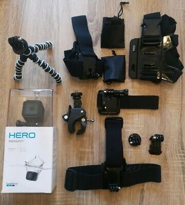 GOPRO HERO Session HD Action Camera WiFi 1080p Camcorder Loads of Accesories
