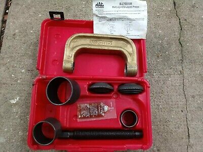 MAC TOOLS BJ7025M Ball Joint / U-Joint Removal / Install Press with plastic  case