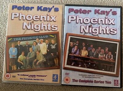 Phoenix Nights The Complete Series 1 and 2 DVD Peter Kay