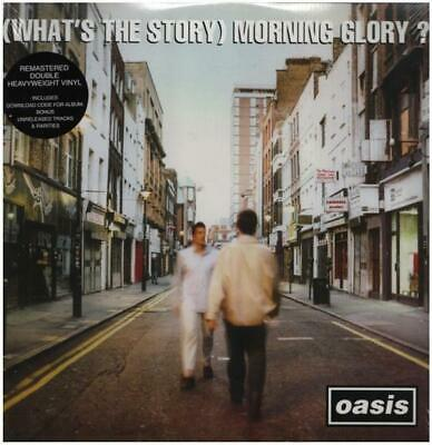 DOUBLE LP & MP3 Oasis (Whats The Story) Mornining Glory? 180G +DOWNLOAD