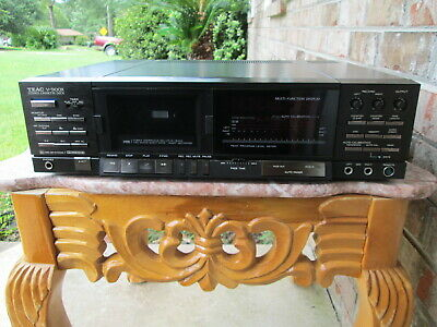 Teac V-900x cassette Deck With 3 head technology For repair Multi voltage!!