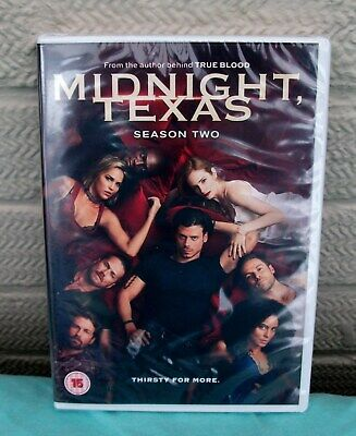 Midnight Texas Season/Series 2 DVD Box Set Complete Second TV Collection New