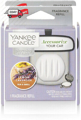 2 YANKEE CANDLE Charming Scents LIFES A BREEZE Life's Car