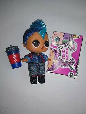 Lol Surprise Sparkle Series Punk Boi Boy Glitter Mostly Sealed No ball See pics