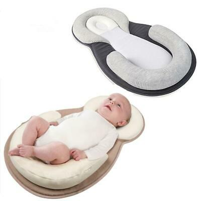 Newborn Baby Pillow Sleep Positioning Pad Anti-Head Shape Pillows Baby Cushion