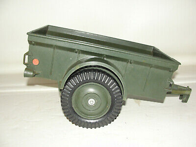 Gi Joe Army Jeep Trailer Vintage GIJOE GI JOE 1970's Hasbro