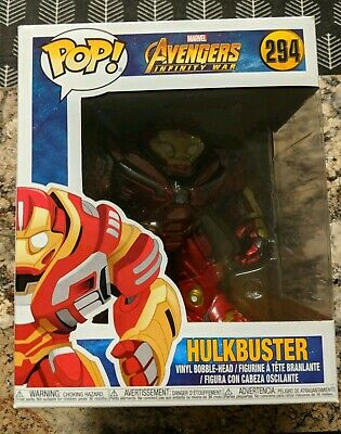 "Funko Pop Marvel Avengers Infinity War Hulkbuster 6"" Vinyl Action Figure"