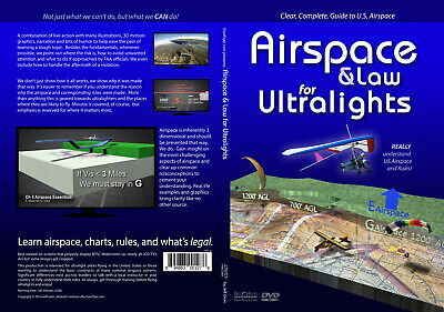 Airspace & Law for Ultralights DVD - Brand New