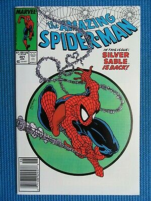 Amazing Spider-Man # 301 - (Nm) -Return Of The Silver Sable,Todd Mcfarlane