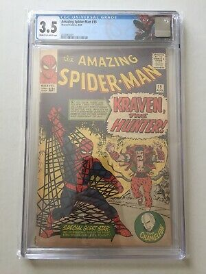 CGC 3.5 Amazing Spider-Man #15 First appearance of Kraven