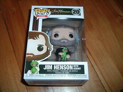 Funko Pop! Jim Henson With Kermit #20~ Good Condition~ Icons Series~