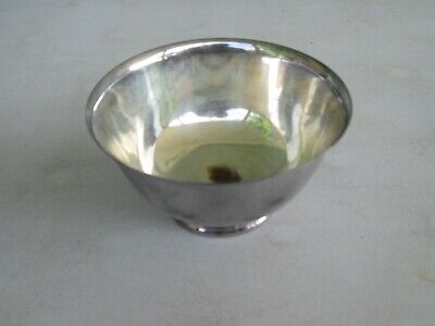Paul Revere Reproduction Silverplate Candy or Nut Bowl