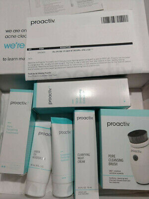 proactiv plus 90 day 5 pieces complete kit + gift Brush  FREE SHIPPING ! new