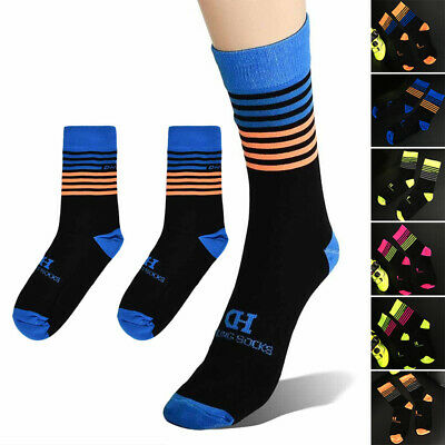 Calcetines Ciclismo Hombre Profesional Transpirable Bicicleta Sweat-Absorbing