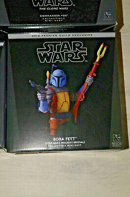 Boba Fett Star Wars Holiday Special Gentle Giant Bust Buste