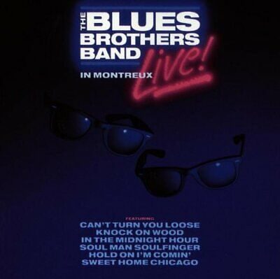 Blues Brothers - Live in Montreux - Blues Brothers CD B9VG The Fast Free