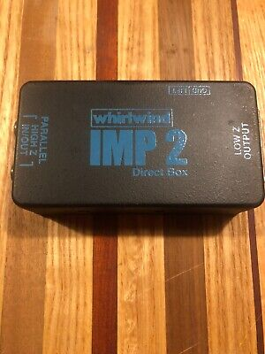 IMP 2 Direct Box Whirlwind 1 Channel Passive Instrument