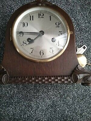 BEAUTIFUL 1920s  STRIKING MANTLE CLOCK (NOT WESTMINSTER CHIME)
