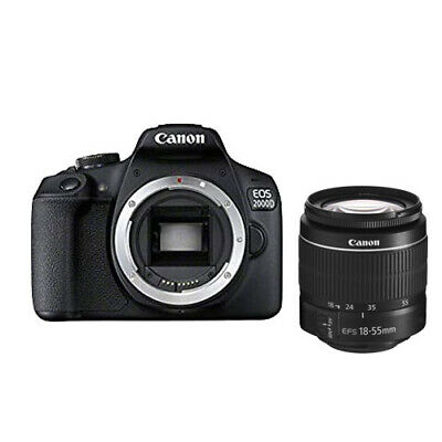 Canon EOS 2000D with 18-55mm f/3.5-5.6 DC III Lens Kit ship from EU migliore