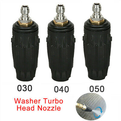 Pressure Washer Rotating Turbo Spray  Nozzle 3000 PSI ,1/4'' Quick Connect Plug