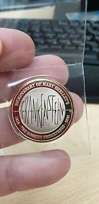 2018 Mary Shelley's Frankenstein Two Pound £2 Coin Brilliant Uncirculated BUNC
