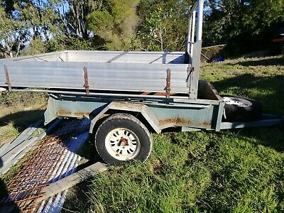 box trailor and ute tray