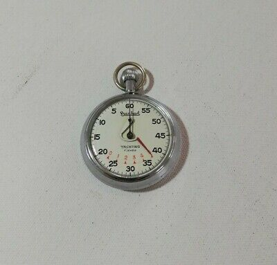 Vintage Early 1960s HANHART YACHTING 7 JEWELS Regatta Timer/Stopwatch