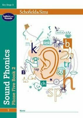 Sound Phonics Phase Five Book 2: KS1, Ages 5-7 by Schofield & Sims 978072171