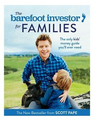 NEW Barefoot Investor for Families: The only kids' money guide... FREE Shipping