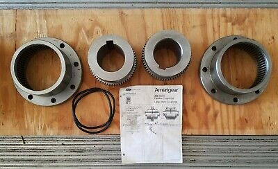 "Zurn Ameridrive Amerigear F203 EB Flexible Power Transmission Coupling 4"" bore"