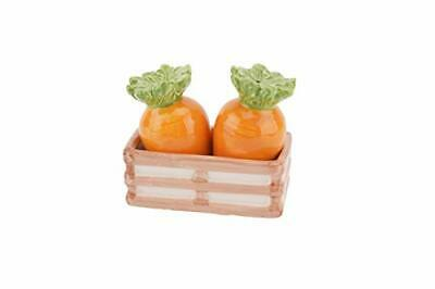 Novelty Ceramic Carrot Salt And Pepper Pots - Beautiful Dining Table Decor
