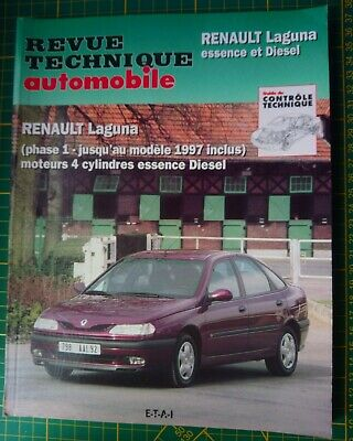 RTA Revue Technique AUTOMOBILE Renault Laguna essence et diesel phase 1