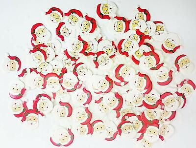 Luxury Cheerful Santa Confetti Christmas Party Table Decoration