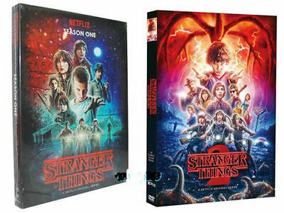 Stranger Things The Complete Seasons 1-2 (DVD,2017,5-Disc Box Set) UK-compatible