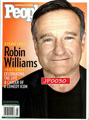 People Commemorative Edition 2019, Robin Williams, New/Sealed, Updated/Reissue