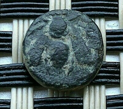 """Ephesos, Ionia 390-320 Bc Ae9 """"Bee & Stag"""" Ancient Greek Bronze Coin"""