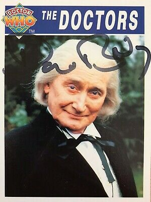 Dr Doctor Who Cornerstone Trading Card Signed by David Bradley