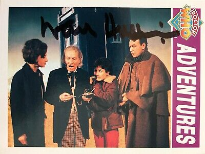 Dr Doctor Who Cornerstone Trading Card Signed by Waris Hussain