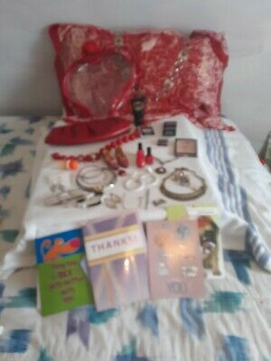 Ladies Junk Drawer Lot (Mary Kay, Clutch, Belt, Silver, Mini shoes &  More..)