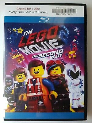 The Lego Movie 2: The Second Part, 2019, PG, Bluray Movie, Like New