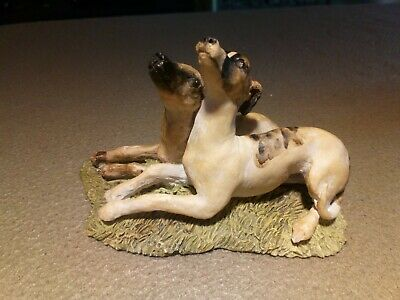 Lurchers/Greyhounds Ornament / Statue - Very Nice