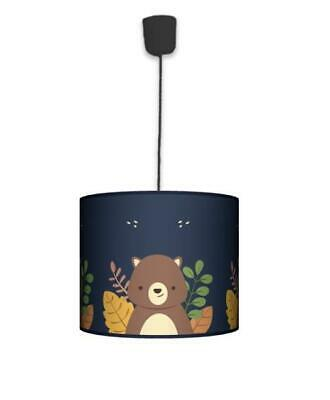 Ceiling Lampshade Lightshade/Chandeliers Cylinder Drum 30cm + Light Cable TEDDY
