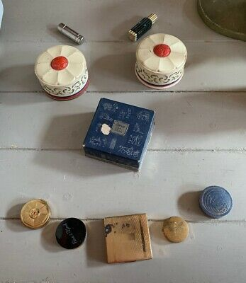 Vintage Perfume Makeup Lot!!!! Perfume, Face Powder, Rouge, Mixed New & Opened!!