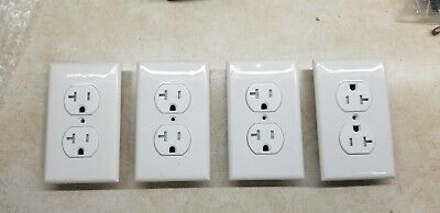 20 AMP Receptacle Outlet -TAMPER RESISTANT WHITE UL GFCI (4)
