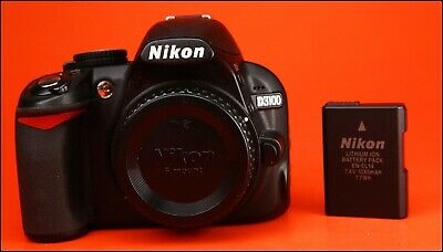 Nikon D3100 DSLR Camera  Sold With Battery, 4,351 Shots
