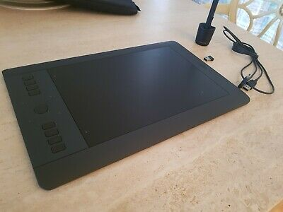 NEW! WACOM INTUOS PRO Medium Wireless Digital Graphic Tablet Black