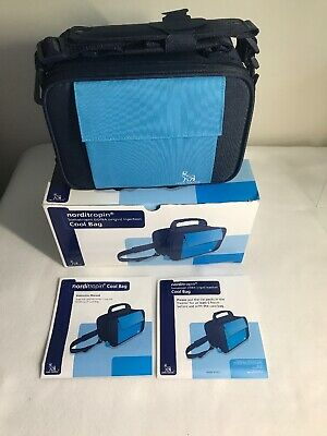 BRAND NEW Medical Travel Bag With Ice Packs Novo Nordisk Cool NIB!