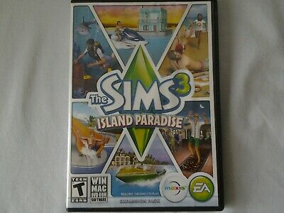 THE SIMS 3 ISLAND PARADISE LIMITED EDITION expansion pack for (PC / Mac)