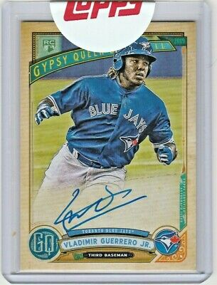 VLADIMIR GUERRERO JR. 2019 Topps Gypsy Queen Rookie Card RC Auto Autograph Jays